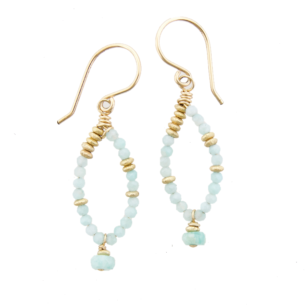 Fairy Earring Amazonite