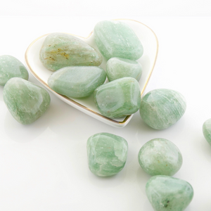 Tumbled Gemstones -Green Aventurine