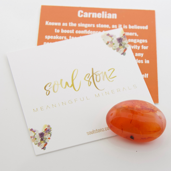 Tumbled Gemstones - Carnelian