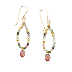 Fairy Earring Tourmaline
