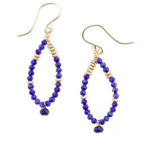 Fairy Earrings Lapis