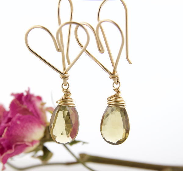 Changeable Hearts - Whiskey Quartz