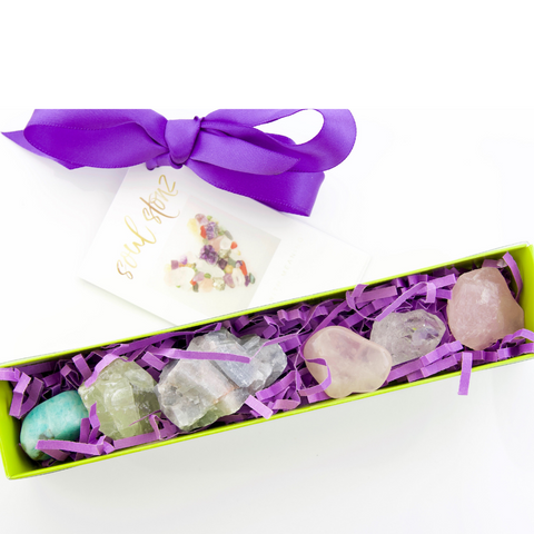 Crystal Box Set - Peace & Love