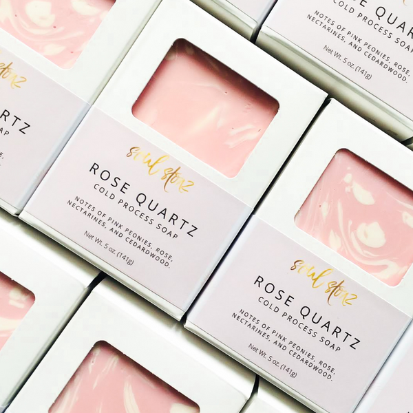 Rose Quatrz Soap