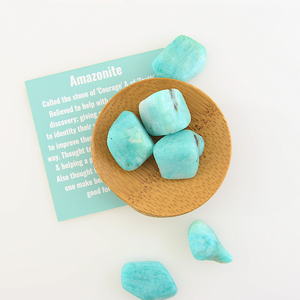 Tumbled Gemstones - Amazonite