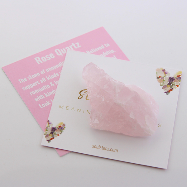 Raw Gemstones - Rose Quartz