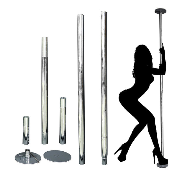 VeraPole Quick Set Up Spin and Static Dance Pole Stripper Pole