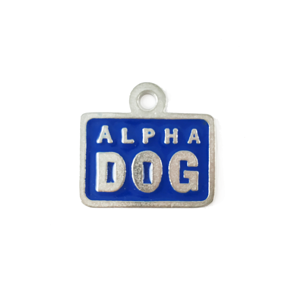 AT41-Alpha Dog Pet Tag