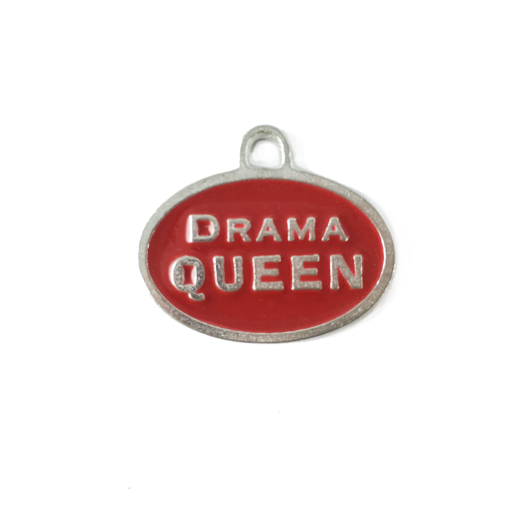 AT33-Drama Queen Pet Tag