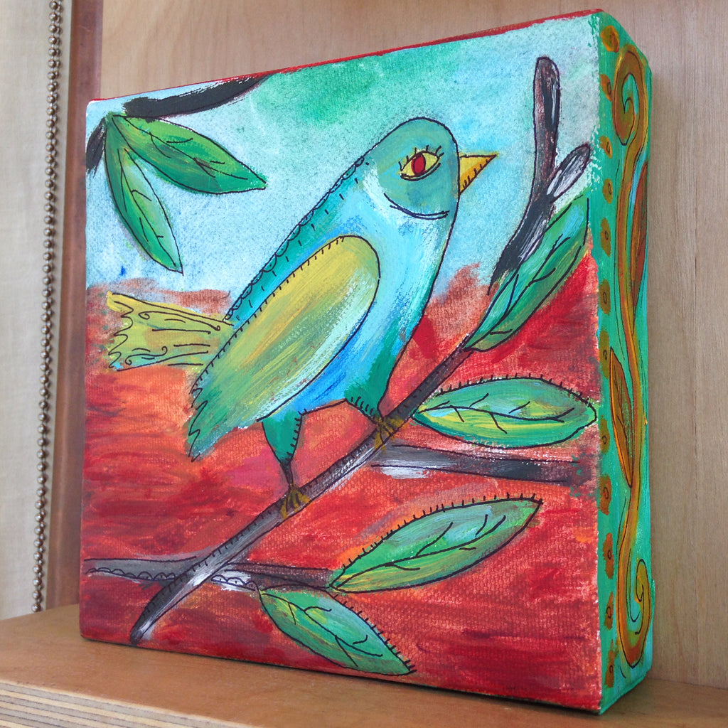 Art 03-Bird Painting