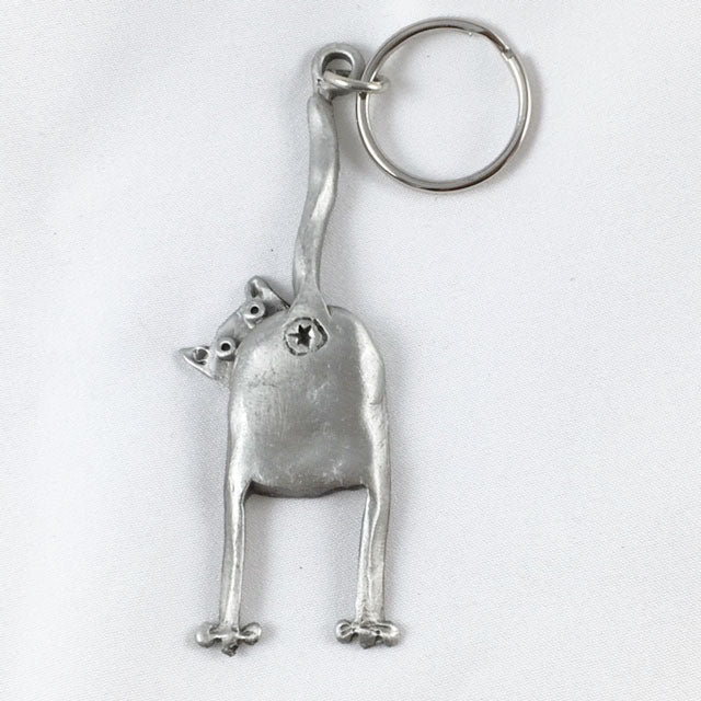 LK12 - Cat Bottom Keychain