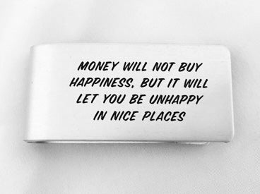MC70-Unhappy in Nice Places Money Clip