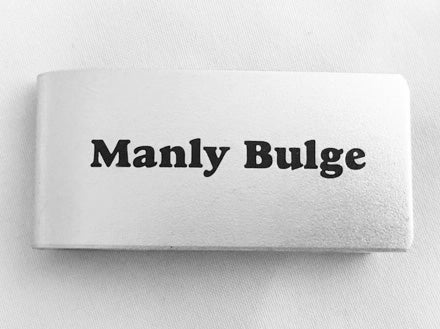 MC76-Manly Bulge Money Clip