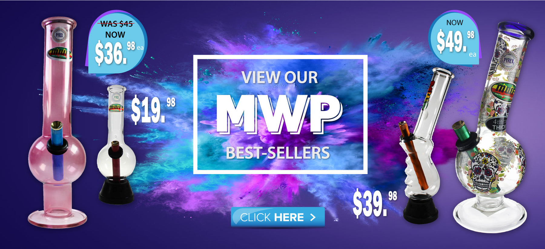 Best-selling MWP bongs online