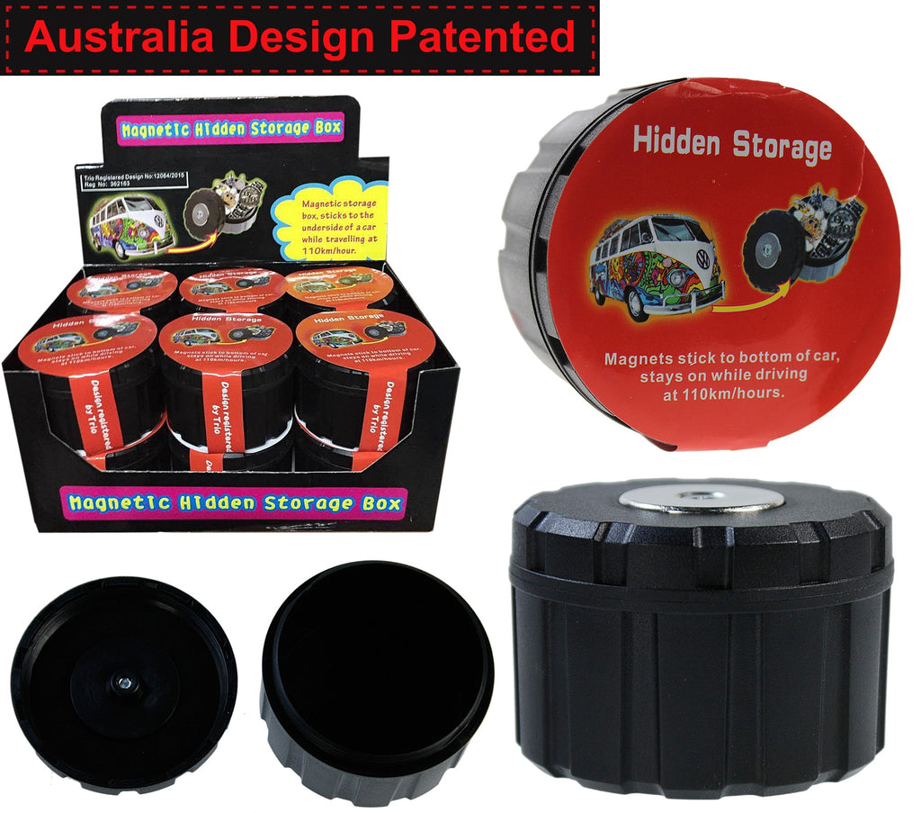 Magnetic Hidden Storage Box 7cm W 5cm H - BongsMart