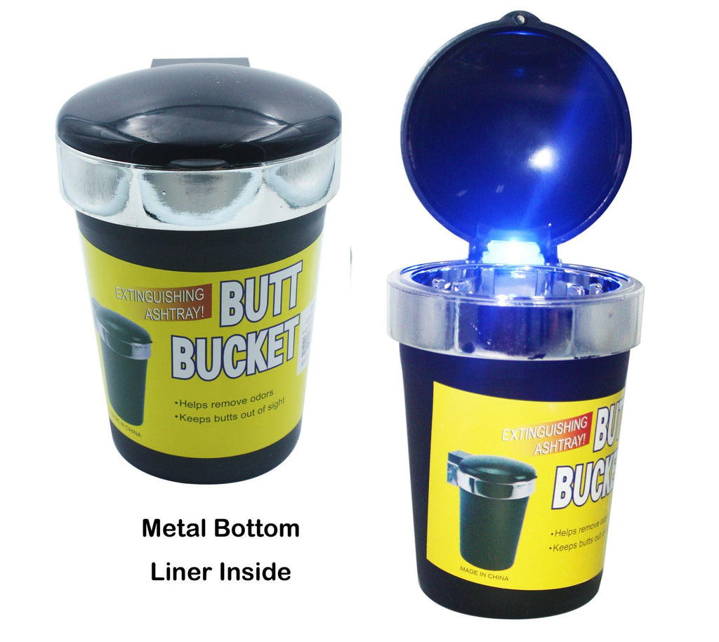 Led Butt Bucket With Lid 12/72 - BongsMart