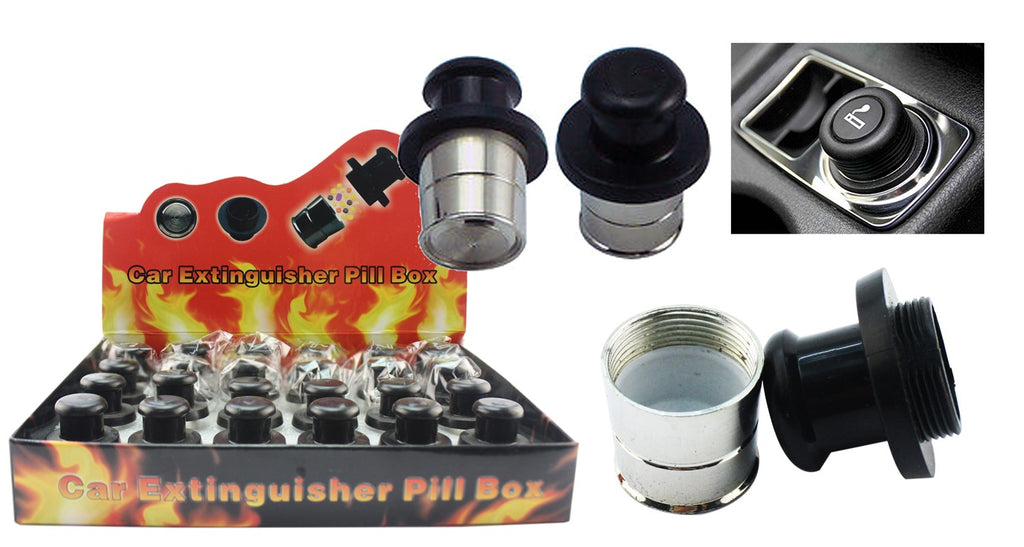 Car Lighter Pill Box - BongsMart