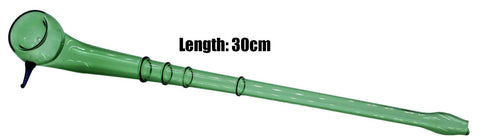Peace Dry Pipe - Green (30cm) 1/48 - BongsMart