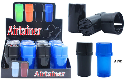 Airtight Container With Grinder - BongsMart