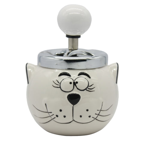 Cat Spinning Ashtray