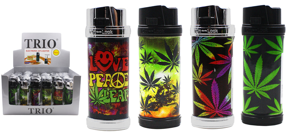 Leaf Electronic Jet Lighter Refillable