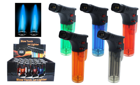 Twin Flame Blowtorch Lighter