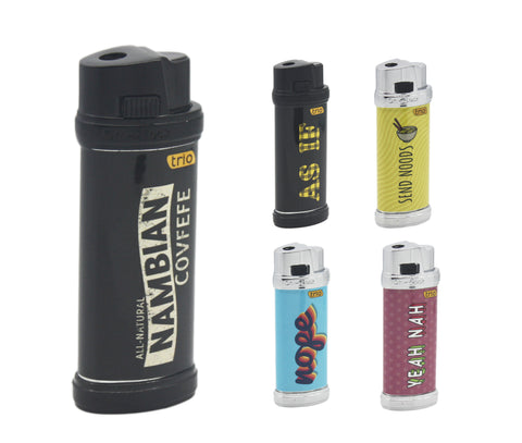 Slogan Electronic Jet Lighter Refillable
