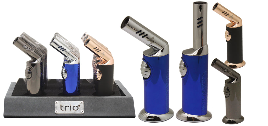 Trio Premium Rotatable Jet Lighter