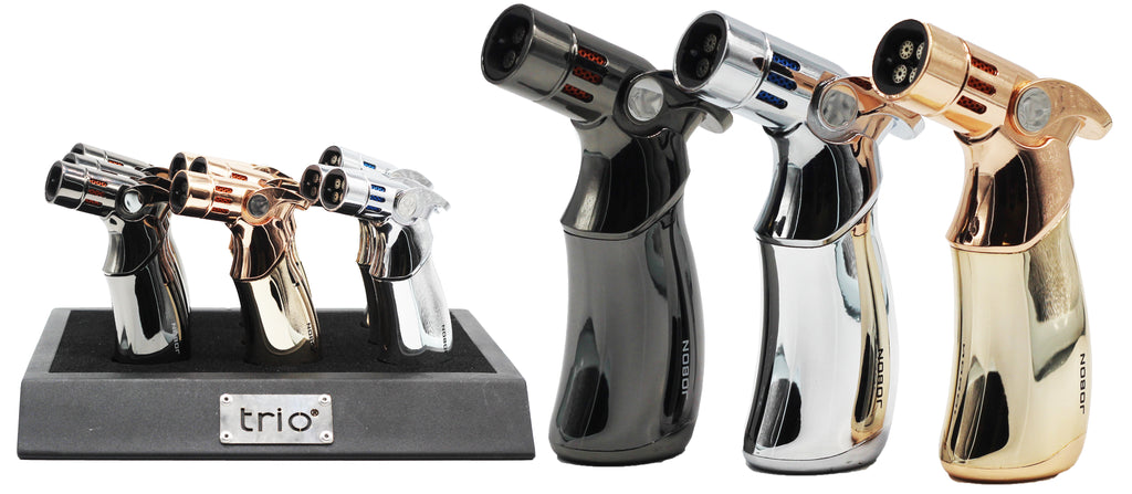 Trio Premium Quadruple Jet Lighter