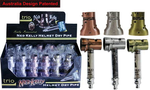 Ned Kelly Helmet Dry Pipe