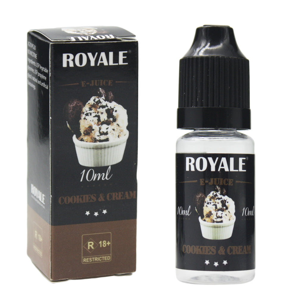 Royale E-Juice - Cookies & Cream 10ml