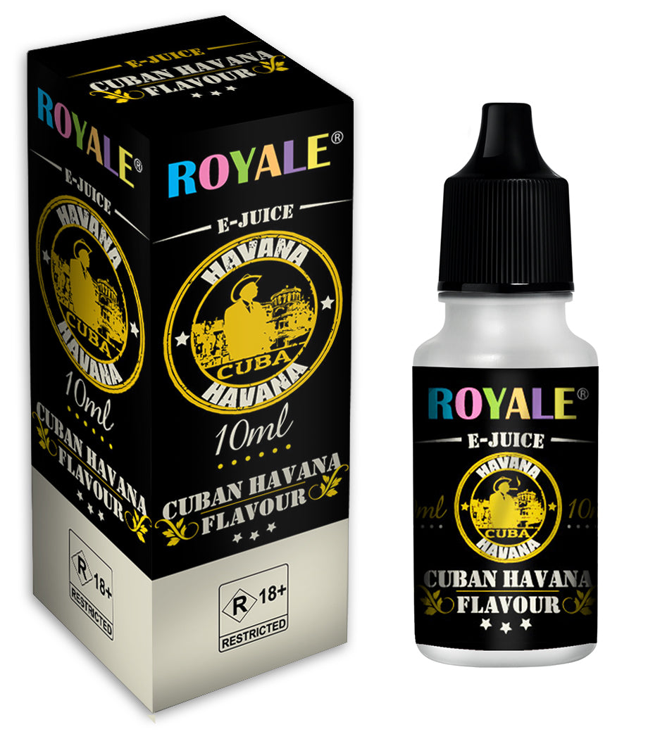 Royale E-Juice - Cuban Havana 10ml