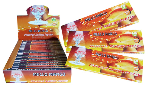Hornet Rolling Papers King Size - Mellow Mango