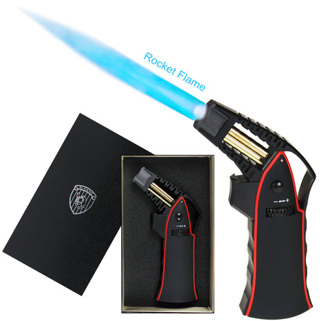 Premium Rocket Jet Flame Lighter - Red