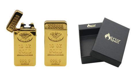 Gold Bar Arc Lighter * INTRODUCTORY PRICE*