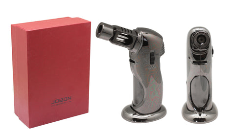 Premium Rocket Flame Jet Lighter - Gun Metal