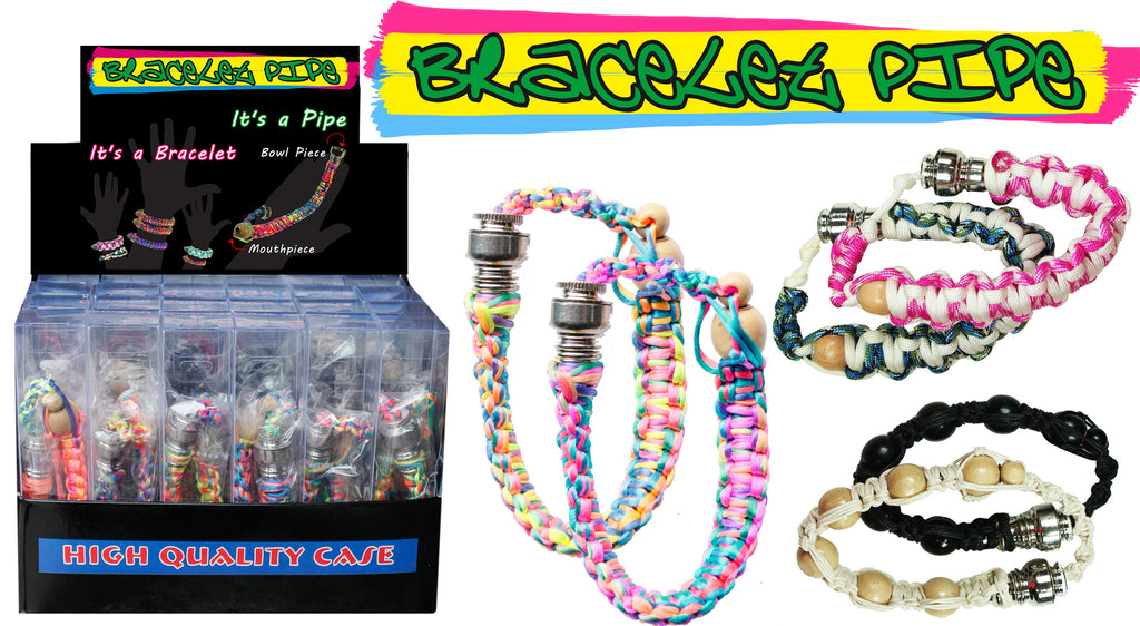 Pipe Bracelet - Assorted Colours