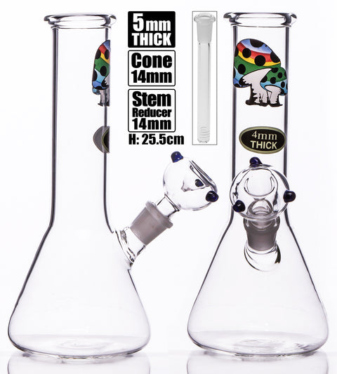 MWP Medium Beaker With Shrooms