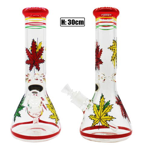 Beaker With Rasta Leaf (30cm)