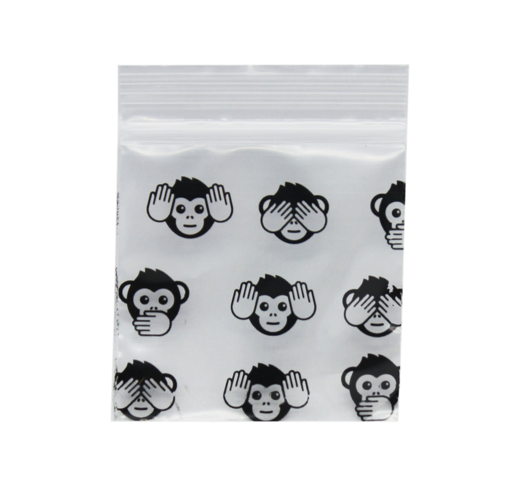 Emoji Monkey 51mm x 51mm