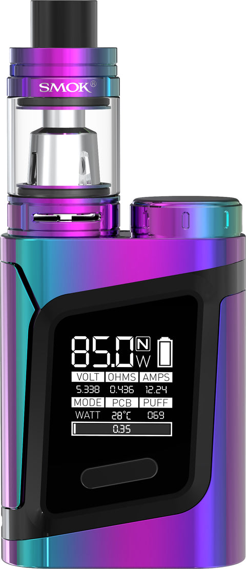 SMOK RHA85 Kit - Rainbow Black