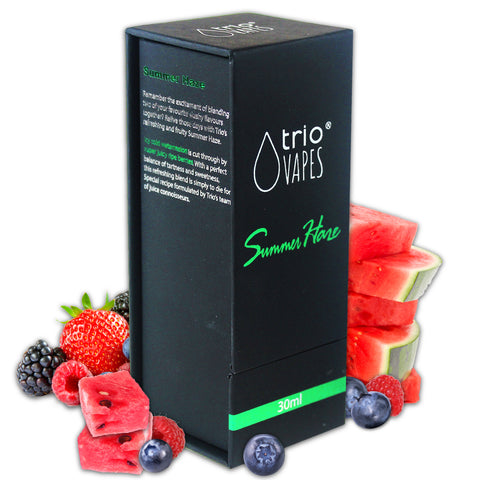 Trio Vapes Premium E-Liquid - Summer Haze