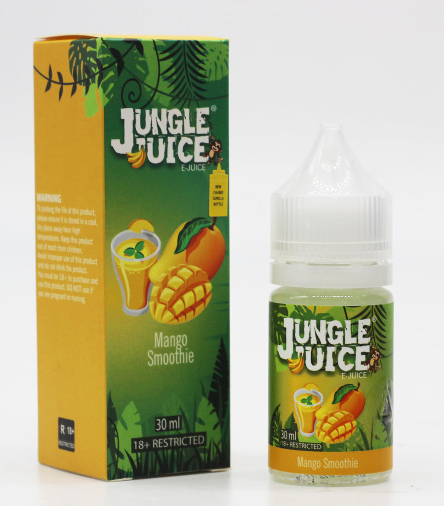 Jungle Juice 70%VG E-juice - Mango Smoothie 30ml