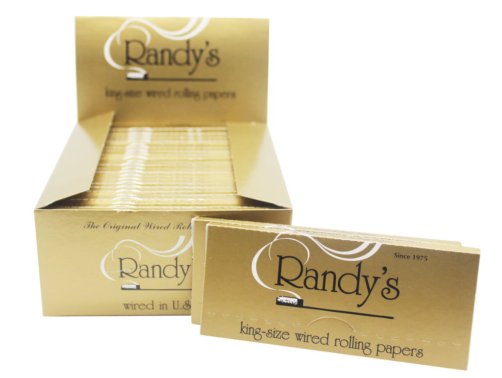 Randy's Classic Wired Papers (110mm) King Size