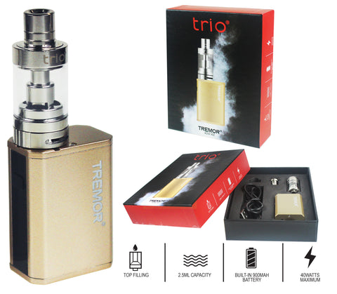 Trio Vapes - Tremor 40W Kit - Gold
