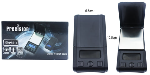 Precision Digital Pocket Scale 100g X 0.01g