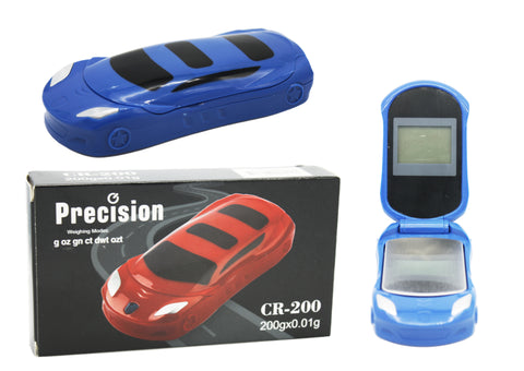 Precision Car Design Digital Scale - Blue 200 x 0.01g
