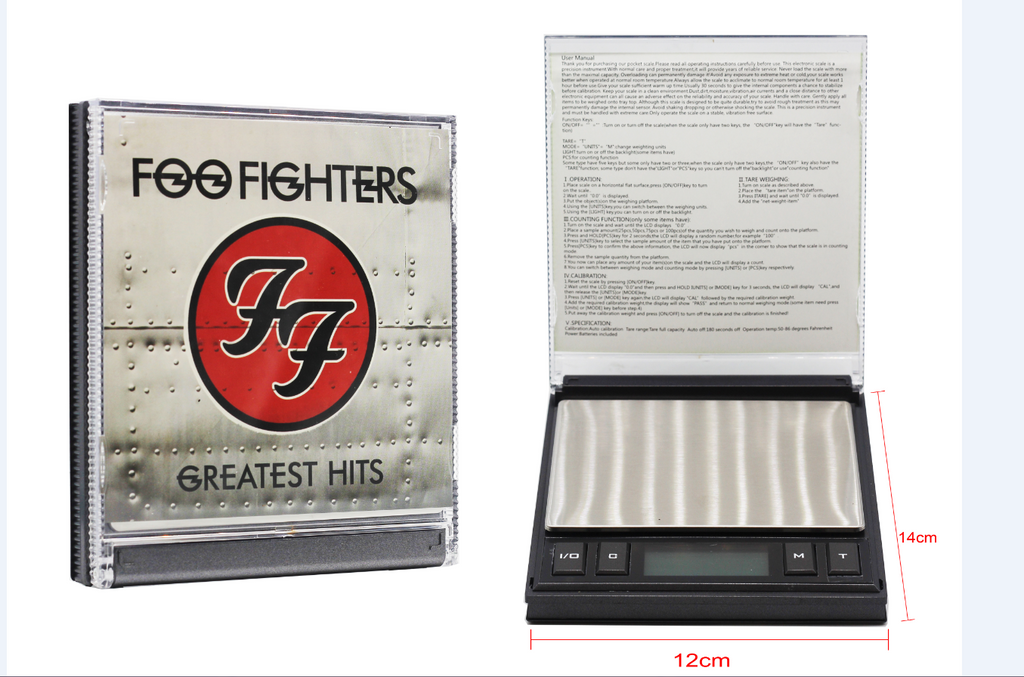 Foo Fighters- CD Digital Scale (0.01g/200g)