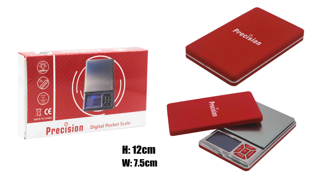 Precision Digital Scale - Red 300x0.01g