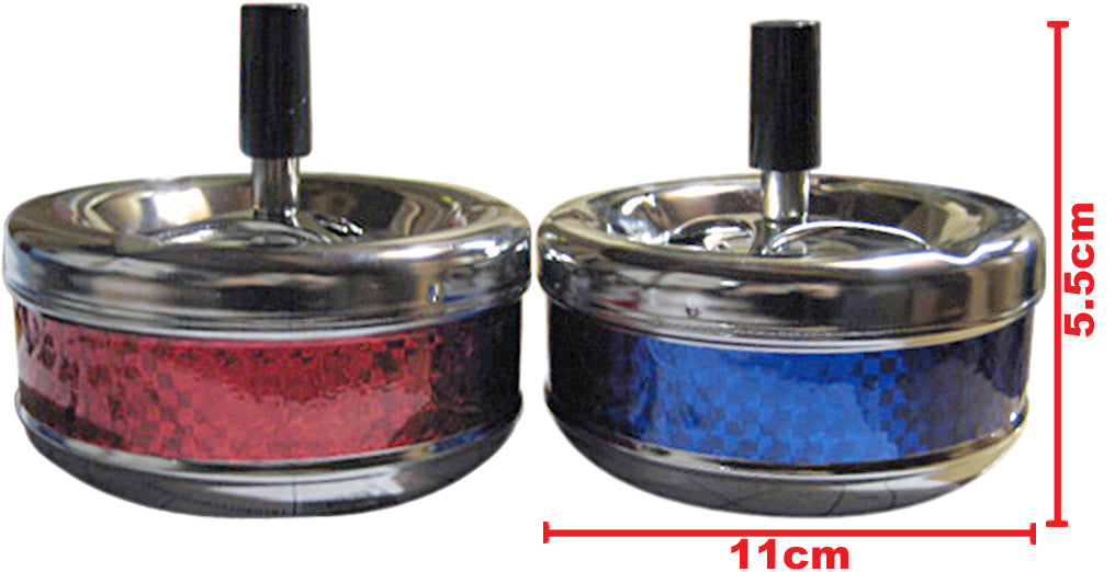 Medium Metal Spinning Ashtray